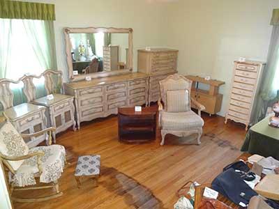 Esatet Sale - furniture on display