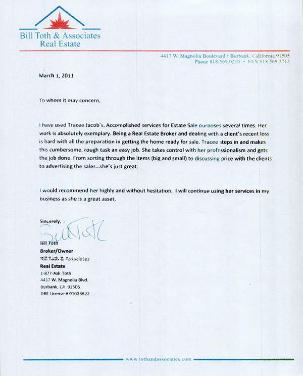 testimonial from client Bill Toth